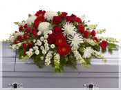 Casket Spray Flower Arrangement