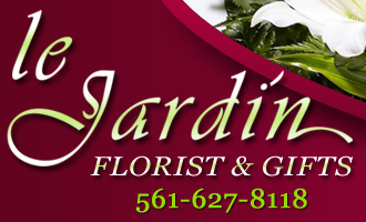 HOME :: Le Jardin Florist :: North Palm Beach Florist since 1986