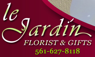 HOME :: Le Jardin Florist :: White & Green Flower Arrangements