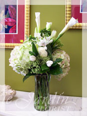 Symplicity Funeral Flower Arrangement
