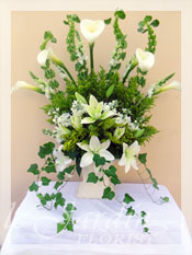 Forever in My Heart Funeral Flower Arrangement