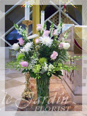 Serenity Funeral Flower Arrangement